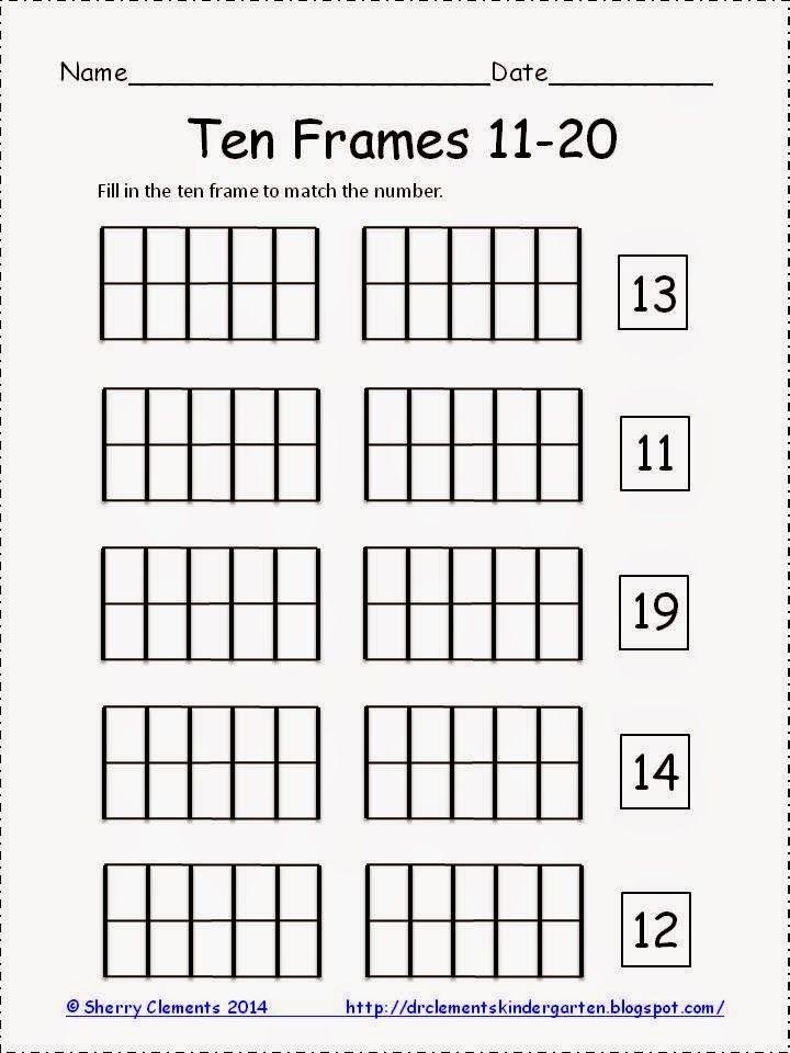 119 best ten frames images on Pinterest   Ten frames, 10 frame and ...
