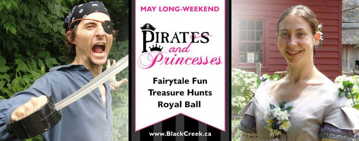 Pirates and Princess at Black Creek Village