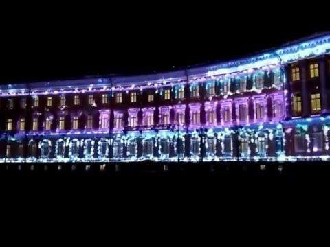 Световое шоу 2015 г, г. Санкт-Петербург!!! Куда пойти с ребенком в канун Нового Года? - YouTube