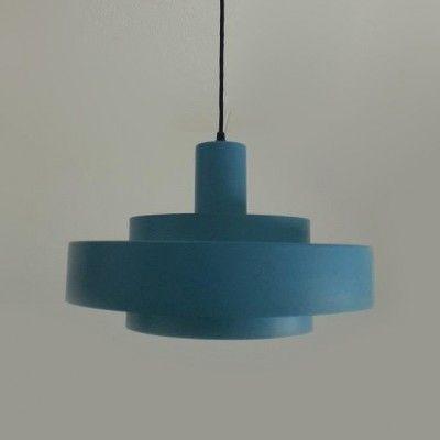 Located using retrostart.com > Equator Hanging Lamp by Jo Hammerborg for Fog and Mørup