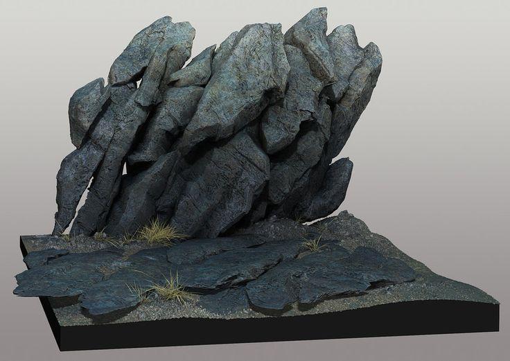 Rock design, Halo 4, Peter Konig on ArtStation at http://www.artstation.com/artwork/rock-design-halo-4