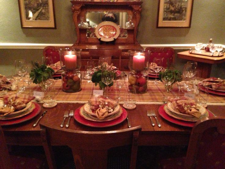 Italian Dinner Table Setting Tablescapes Pinterest