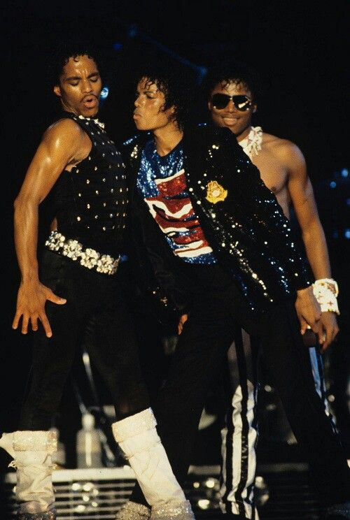 Michael and his brothers