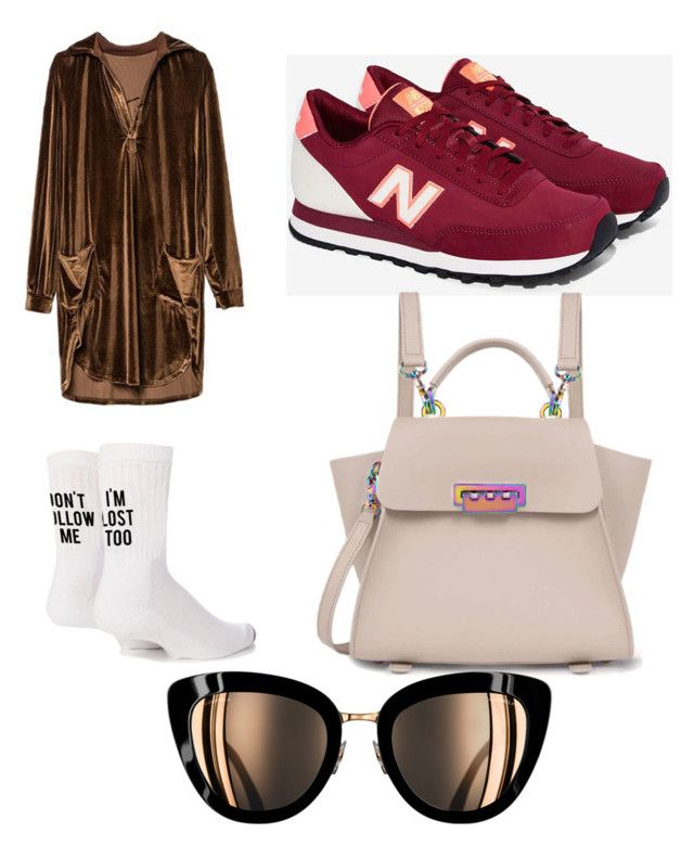"""""""Untitled #172"""" by jessicajessy on Polyvore featuring Yeah Bunny, New Balance and ZAC Zac Posen"""