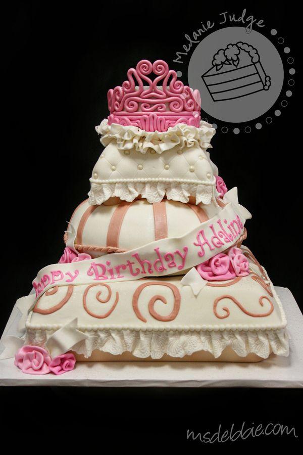 Pillow Birthday Cake Maybe For Chesneys 5th Birthday