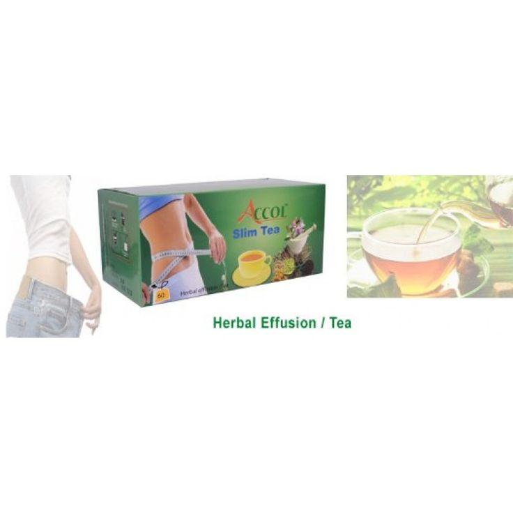 ACCOL Organic Slim Tea-60 Bags,  120 Gm in 1 Pack, 2 Packs, Original, Genuine & Imported From Nepal,