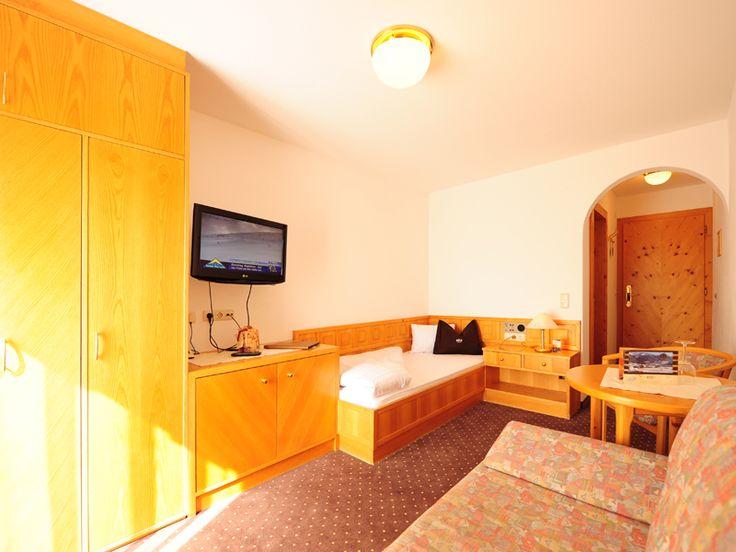 Einzelzimmer im Hotel Röck Fiss