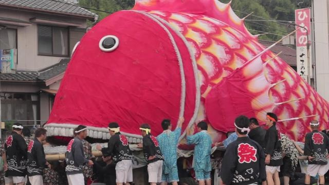 Sea Bream Festival at Toyohama, Japan by momo. Toyohama Tai Matsuri (豊浜鯛まつり) is a festival for sea breams.