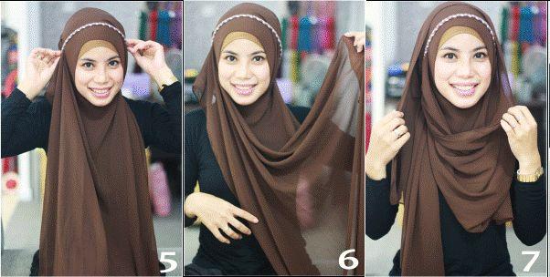 Hijab Tutorial: Headband Style
