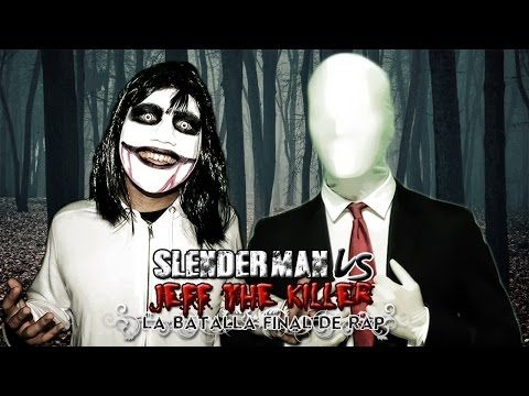 Slenderman VS Jeff the Killer. Batalla de Rap (Especial Halloween) | Keyblade - YouTube