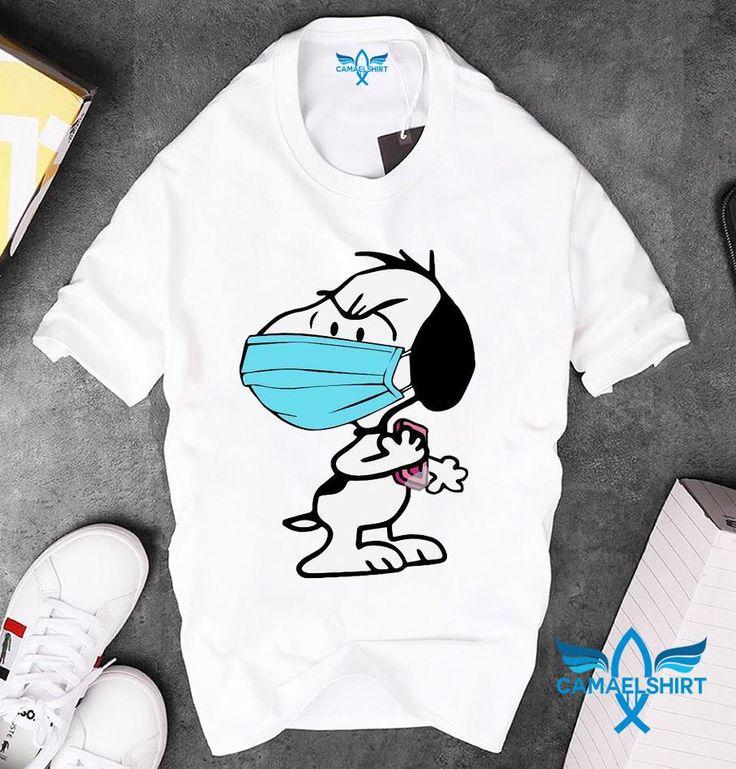 Snoopy face mask quarantined 2020 tshirt Camaelshirt