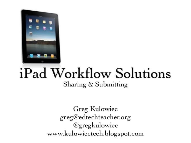Ipad education research paper