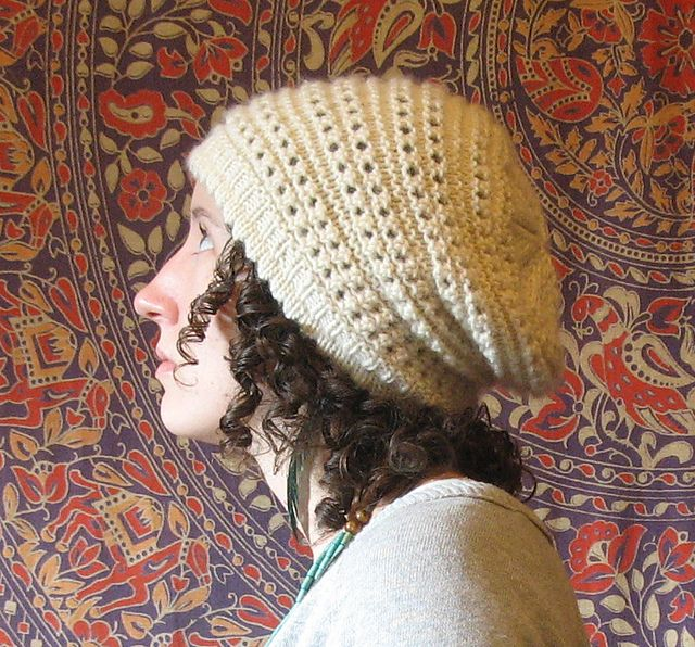Antelope Hat - Beanie free pattern by Kelly McClure - adult medium size