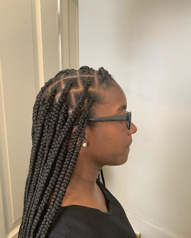 New The 10 Best Braid Ideas Today With Pictures Knotless Individuals Jasbstyles Phillyhairstylis Hair Inspiration Long Braids Long Hair Styles