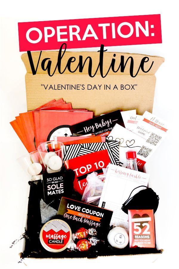Dating divas valentines day box