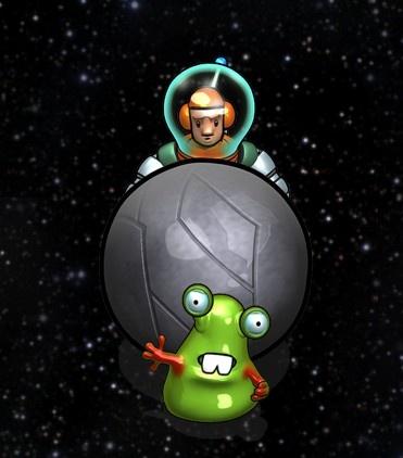 Snotz bye bye  Here's the link to the game: https://itunes.apple.com/gb/app/cosmonutz/id436018145?mt=8
