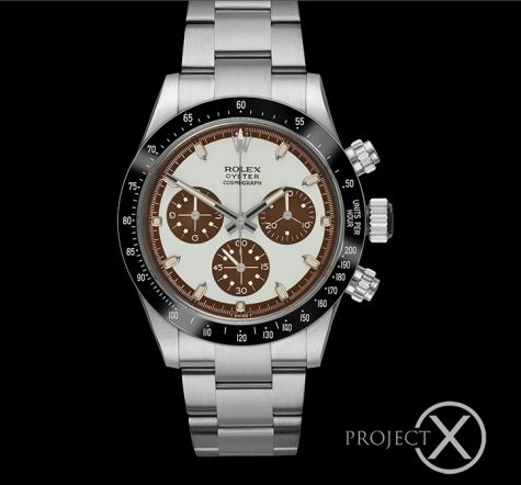 Rolex Daytona PXD DS9 tropical dial - prix et photos