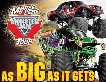 Maple Leaf Monster Jam Tour Hamilton Ontario Discount Code