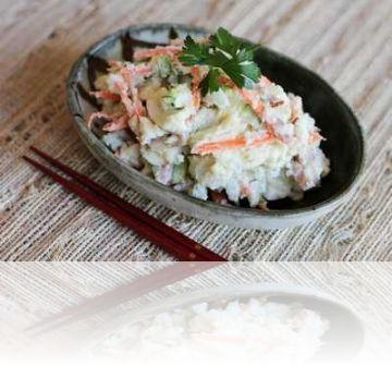 Японский салат из осминогов