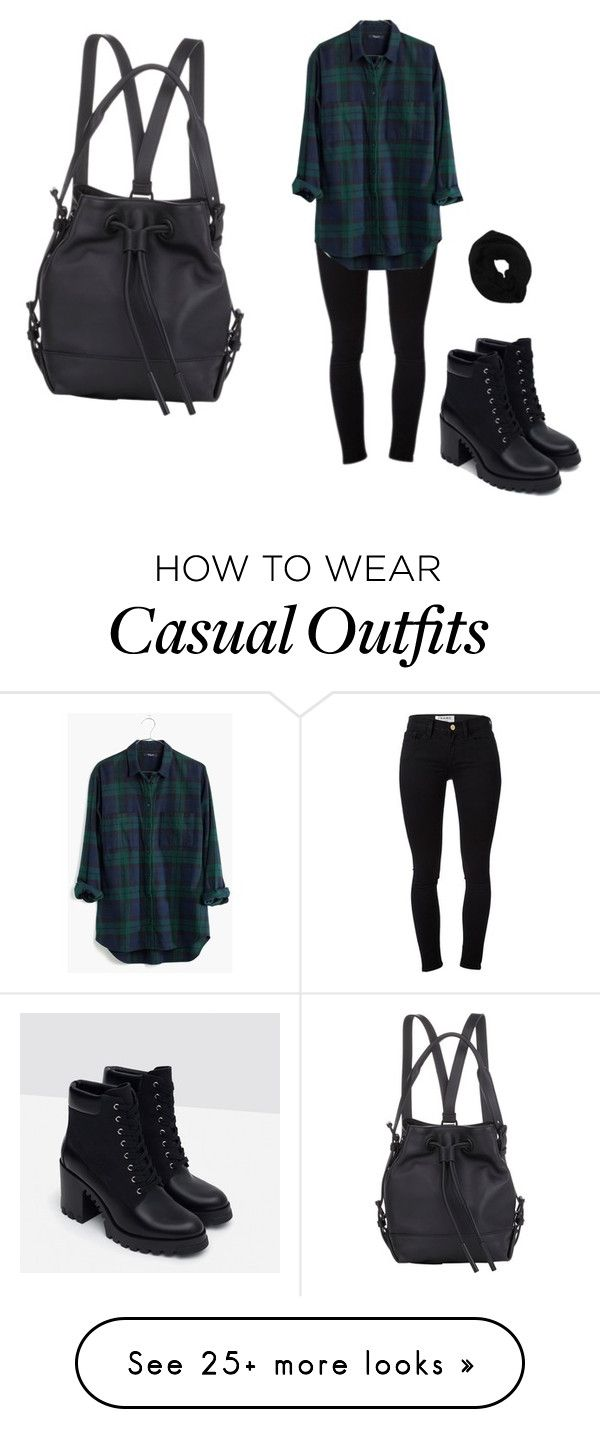 """casual"" by hyspanicprincesa on Polyvore featuring mode, Frame Denim, Madewell, Zara, Wyatt, Opening Ceremony, women's clothing, women, female en woman"