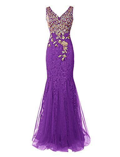 Dresstells® Long Lace Mermaid Prom Dress with Appliques Wedding Dress Evening Party Wear Dresstells http://www.amazon.co.uk/dp/B00XBHE8MA/ref=cm_sw_r_pi_dp_pplEwb1QPKQ5P
