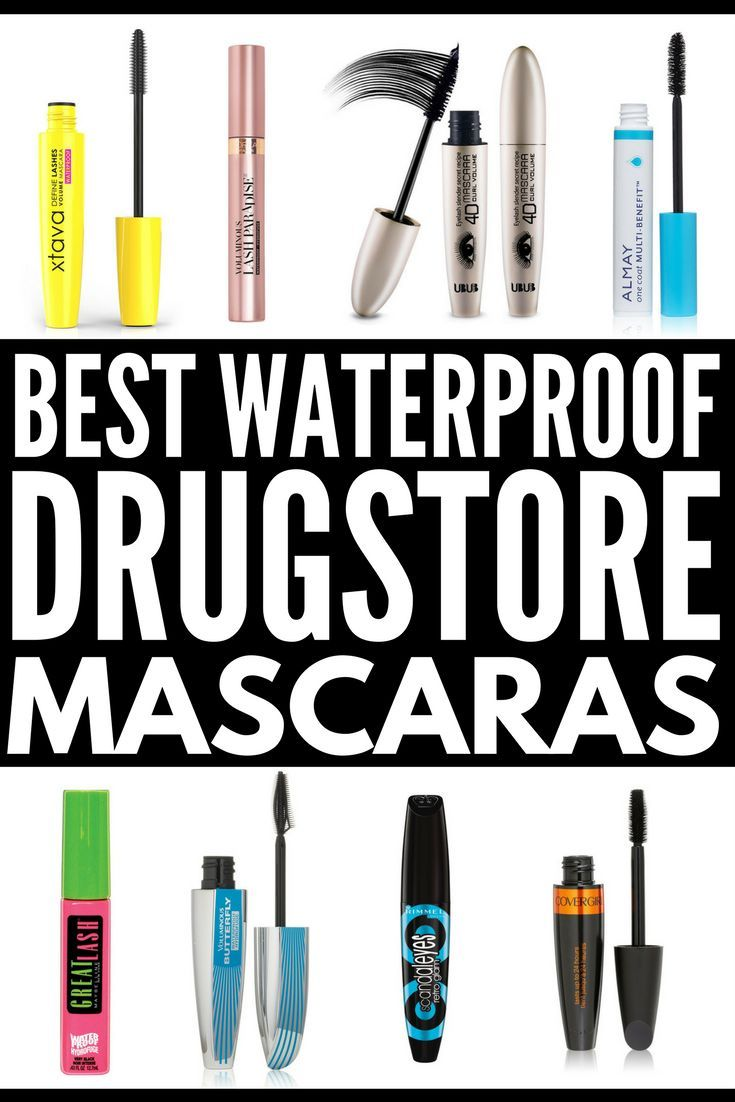 The best smudge proof mascara! Looking for the best waterproof drugstore mascara dupes? Need a good smudge proof mascara that's lengthening and adds volume? From Maybelline to L'oreal to Covergirl – and everything in between! – we're sharing 10 cheap drugstore mascara products that are perfect for oily skin, hot humid days, and for swimming. And if you want to know how to take off waterproof mascara, we've included a great remover you'll love!