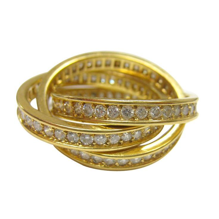 Cartier Diamond Russian wedding ring
