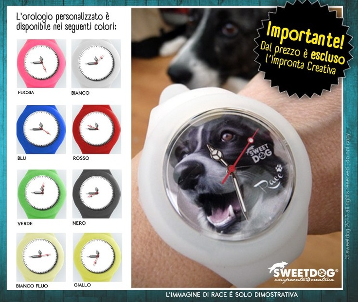 DOG: RACE (Border Collie) - Dog Personalized watches! Your DOG in your WATCH!