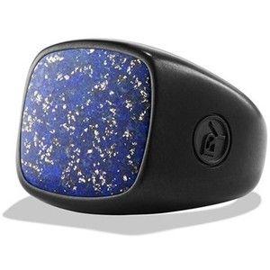 Men's David Yurman 'Exotic Stone' Signet Ring