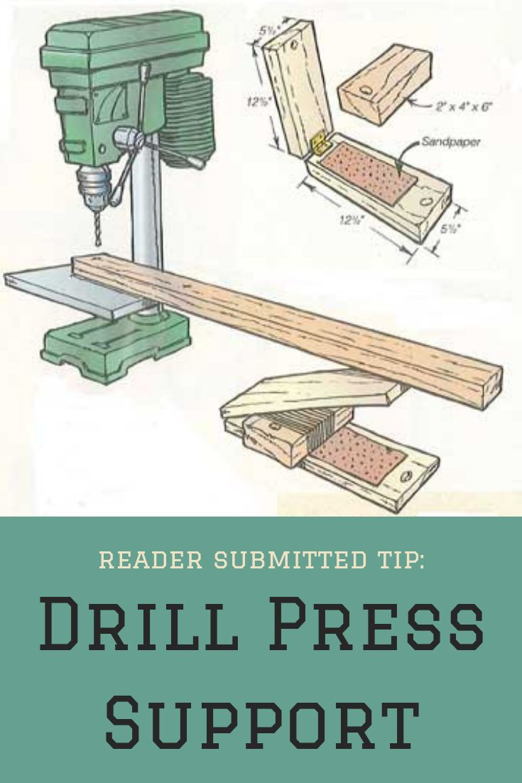 Drill Press Support