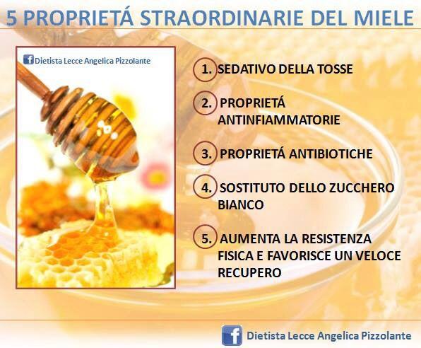 5 straordinarie proprietà del miele!!!