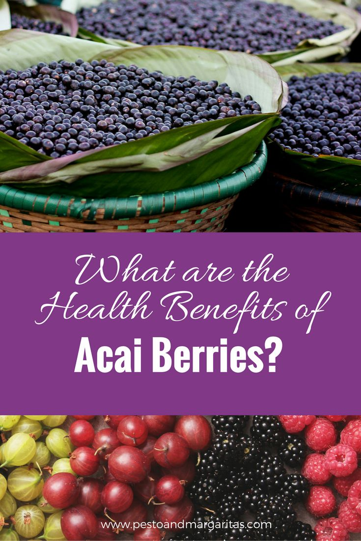 Acai berries are known as a 'superfood' but have they earned the title?  What are the health benefits of acai berries?