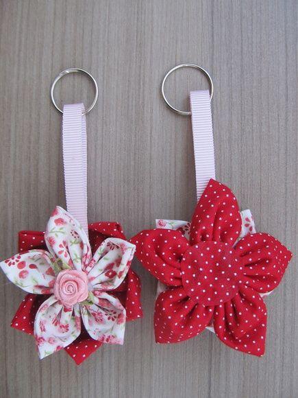 Lembrancinha Maternidade Chaveiro Flor