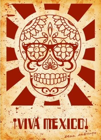 Viva mexico! #calaca