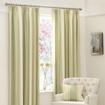 Green Milan Pencil Pleat Curtains