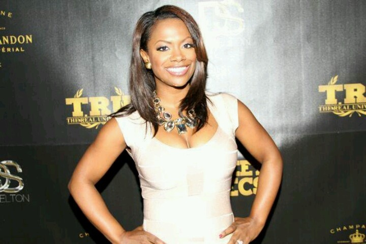 kandi burress of rhoa is all glammed up in the galore necklace from