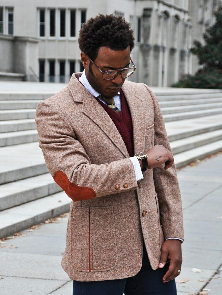 Mens Blazer With Elbow Patches Hardon Clothes