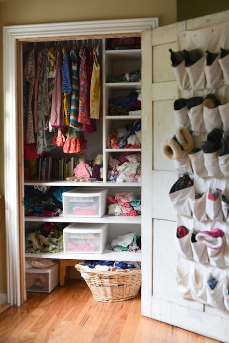 excellent multi-use of closet space!