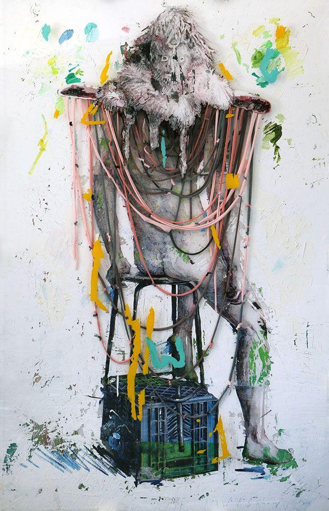 Enclosed Space by Chris Denovan  | StateoftheART  South African Fine Artist Chris Denovan