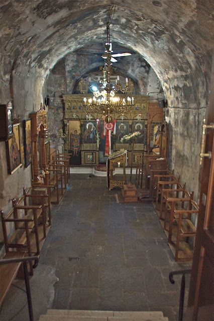 Tiny church of St. Phanourios, Rhodes, Greece, 13th century  gonemunching.blogspot.com