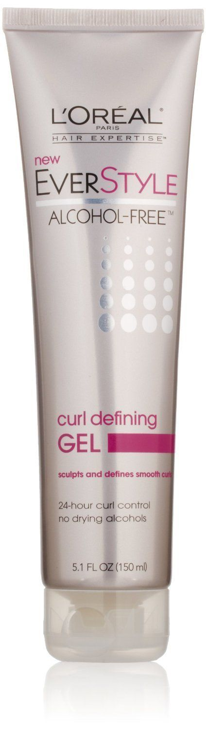 L'Oreal Paris EverStyle Curl Defining Gel, Alcohol-Free, 5.1 Fluid Ounce (2 pack) * This is an Amazon Affiliate link. Check this awesome product by going to the link at the image.