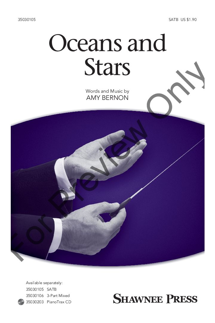 Oceans and Stars (SATB ) by Amy Bernon| J.W. Pepper Sheet Music