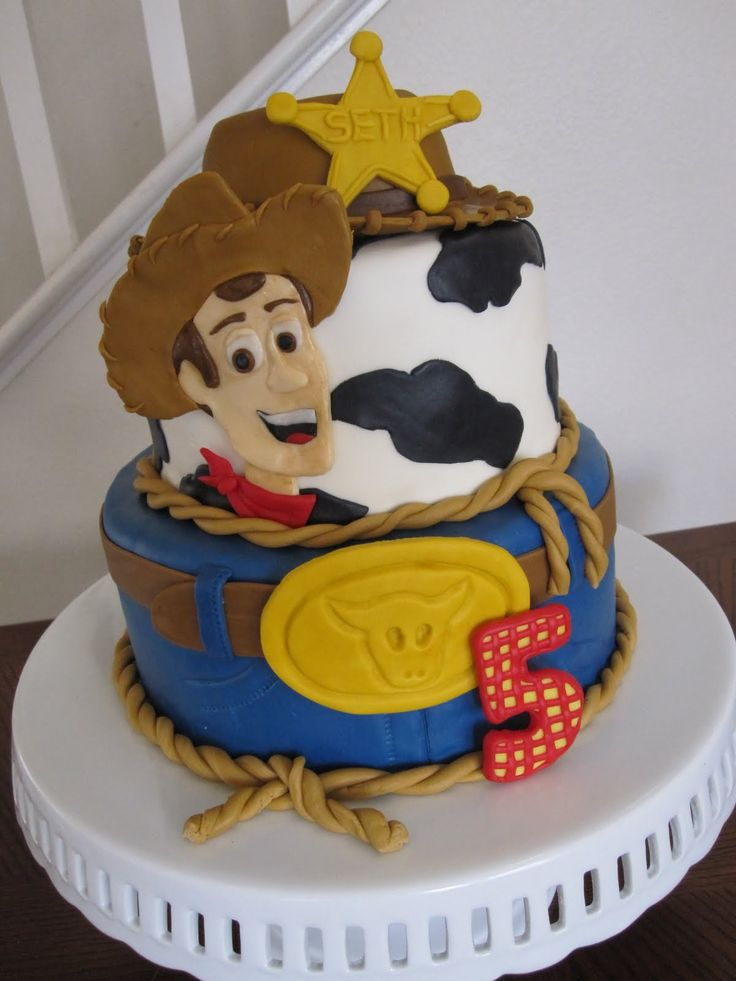 Toy Story Woody Cake! I'm such a big kid cause Aquarius, you could so make this for our bday lol.