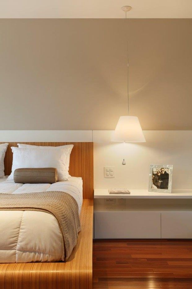 Apartamento Barra da Tijuca (Condomínio Santa Mônica Jardins) / Eliane Fiuza #bedroom #bed #cabeceira