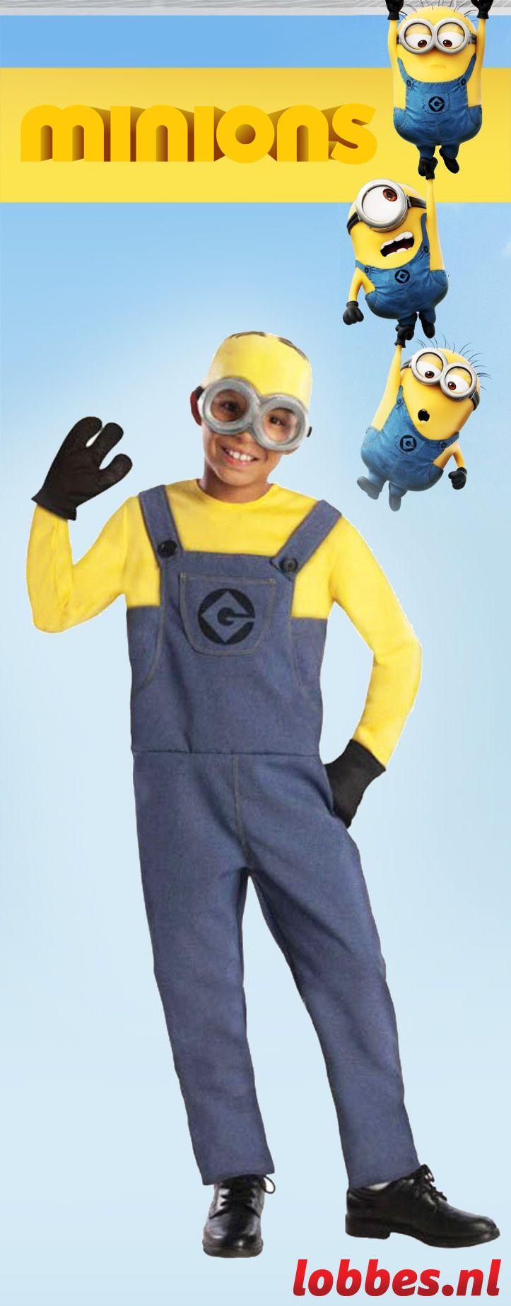 Heb je binnenkort een verkleedfeestje? Dan is Minion Dave zijn kostuum een geweldige optie, want hij maakt altijd wat leuks mee! Daarnaast ben je gelijk klaar, want dit verkleedsetje is tot in de puntjes geregeld. Het volgende zit er namelijk in: een jumpsuit, een hoofdkapje, handschoenen en een veiligheidsbril in. Veel feestplezier!