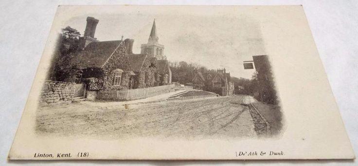 Linton - Maidstone - Kent - Antique Postcard c1910