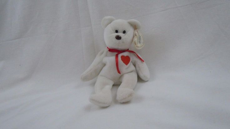 Ty Beanie Babies Valentino plush doll with multiple mistakes RARE