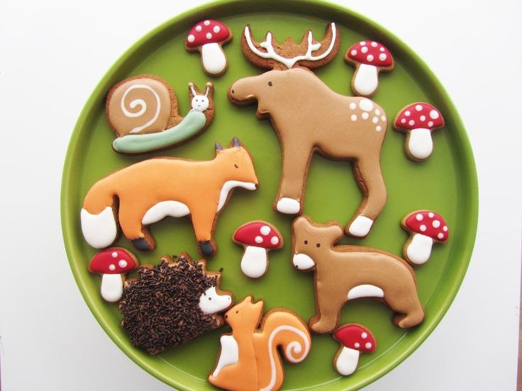 Woodland friends   Cookie Connection
