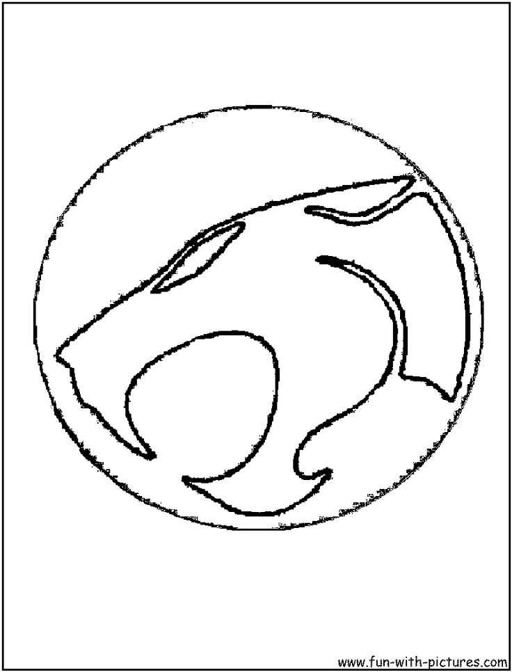 thundercats logo brand coloring page - Thundercats Coloring Pages To Print