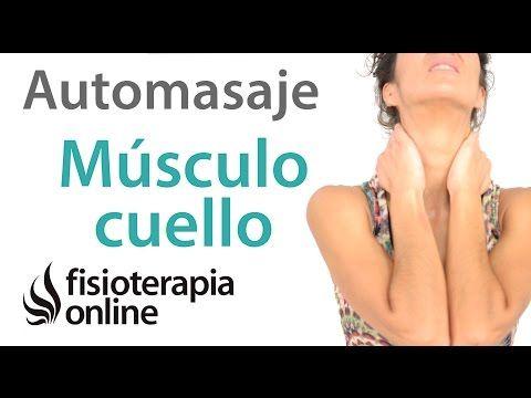 Automasaje para músculo esternocleidomastoideo - Relajar tensión cervical - YouTube